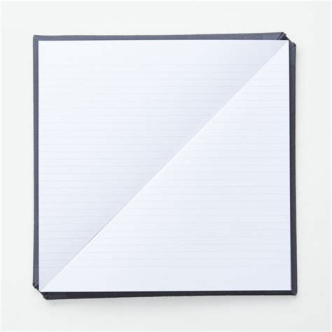 design milk notebook the new improved triangle notebook by tan mavitan