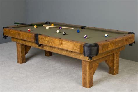 barnwood timber pool table rustic barn wood billiard table