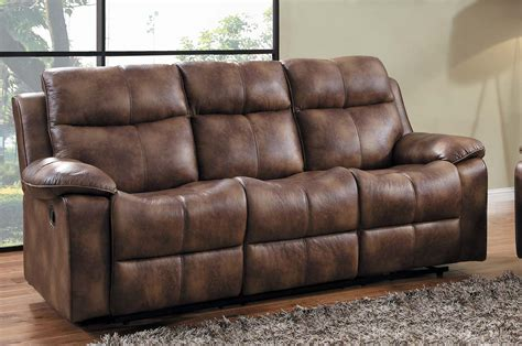 Microfiber Reclining Sectional Sofa Homelegance Heights Reclining Sectional Sofa Set Polished Microfiber U9635pm Sect