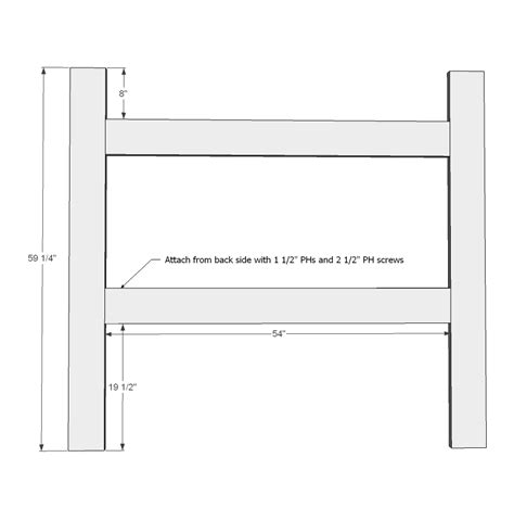 headboard dimensions ana white mantel moulding headboard diy projects also