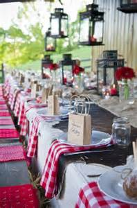 wedding dinner table decorations photograph western style