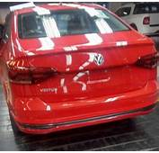 VW Virtus Red Spy Shot Brazil  Indian Autos Blog