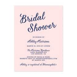 modern script bridal shower invitation crafty pie press