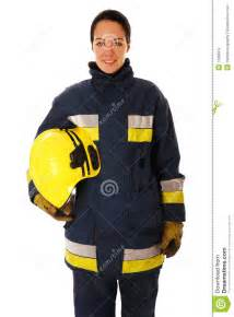 Female firefighter stock photography image 12660912