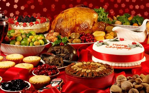 christmas table food galaxy of entertainment