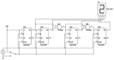 piso using 7495 4 bit counter schematic get free image about wiring diagram