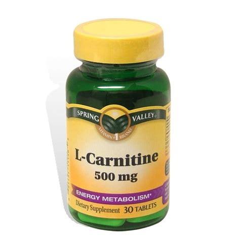 L Carnitine L B5 Complex valley 30 tablets 500 mg l carnitine dietary