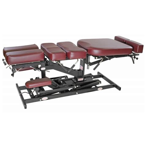Chiropractic Table by Stationary Adjusting Table By Eurotech