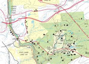 Hickory Run State Park Map by Ghaas The Greater Hazleton Area Astronomical Society