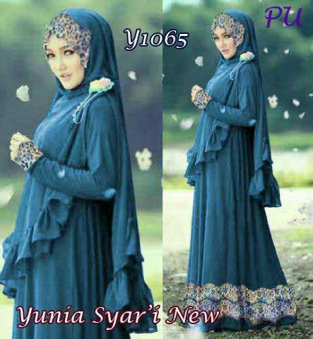 Bergo Rania Renda baju gamis cantik yunia rainbow y1065 bergo syari terbaru