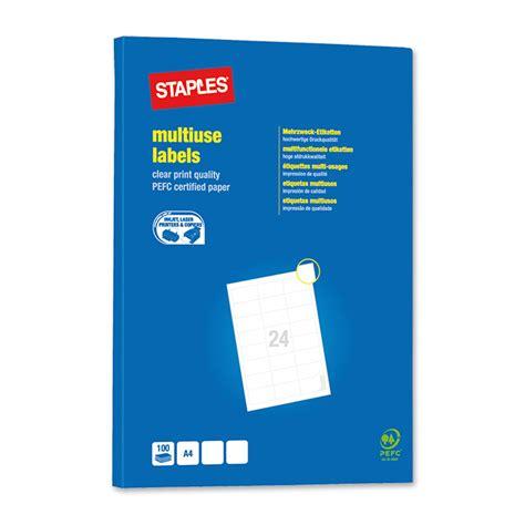 Word Vorlage Etiketten 70 X 42 3 Staples Universal Etiketten Easyprint 70 X 42 3 Mm Bestellen Schoch V 246 Gtli