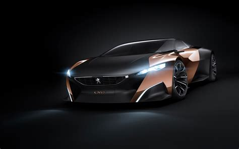 peugeot concept peugeot onyx concept car 2012 wallpaper hd car
