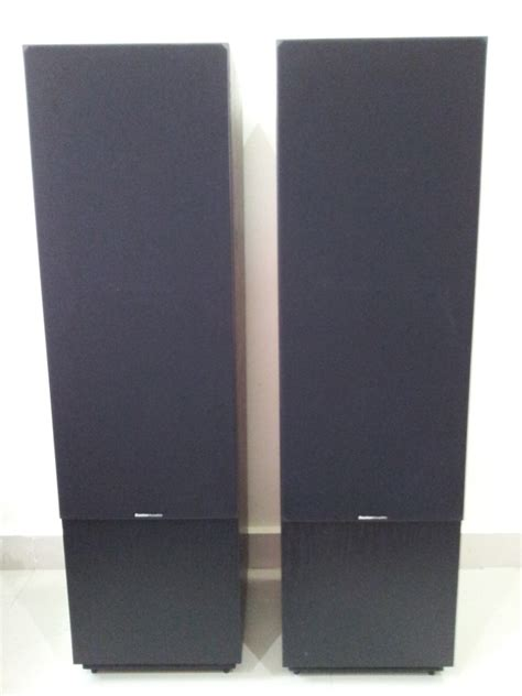 10 woofer three way floor standing speakers boston acoustics t930 series ii 3 ways 10 inch
