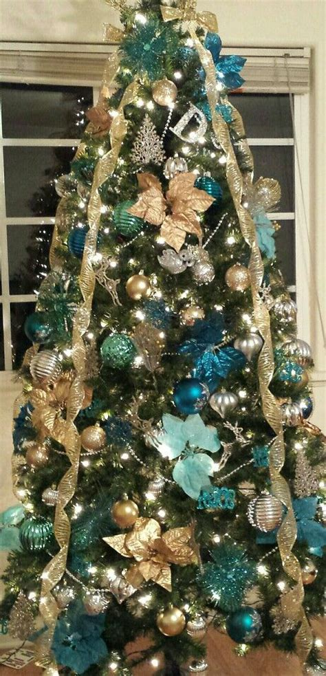 christmas trees tourquoise and silver 1000 ideas about turquoise on aqua and blue
