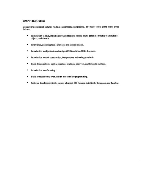 Macm 101 Sfu Course Outline by Macm 101 Sfu Course Outline Advertising Internship Cover Letter Wireless Test Engineer Sle Resume