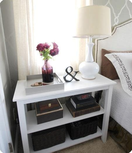 cheap nightstand ideas great looking inexpensive nightstand solution decor and