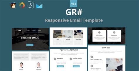 grow responsive email stready builder by
