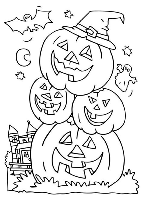 Halloweeen Coloring Pages coloring pictures coloring town