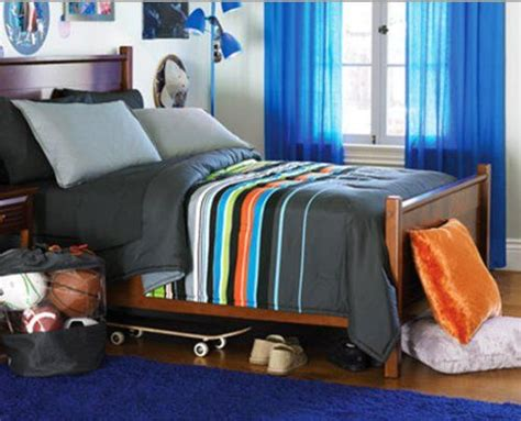 teen boys comforter sets lime green and navy striped bedding blue green
