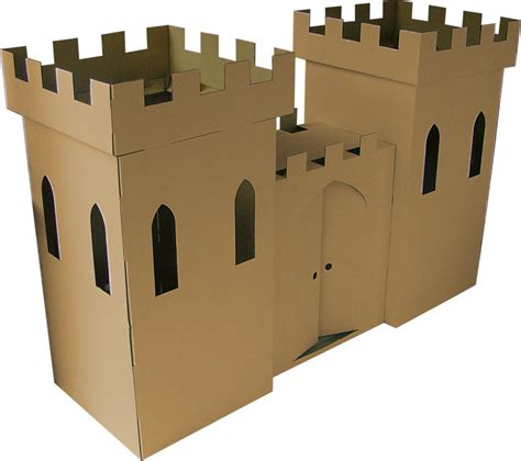How To Make A Castle Out Of Cardboard And Paper - zen seeker s castle playhouse page