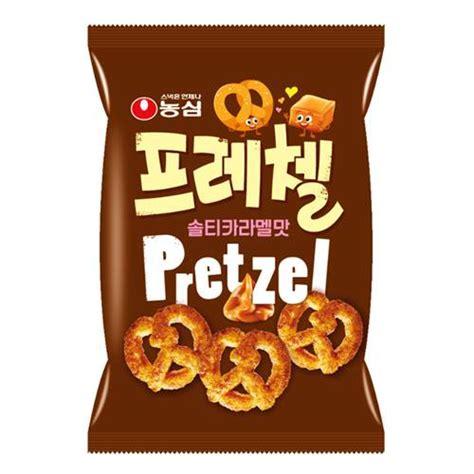 Samjin Pretzel nongshim pretzel salty caramel 80g new world e shop