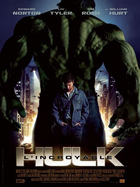 membuat poster film hulk l incroyable hulk la critique