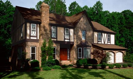 exterior paint colors for tudor homes