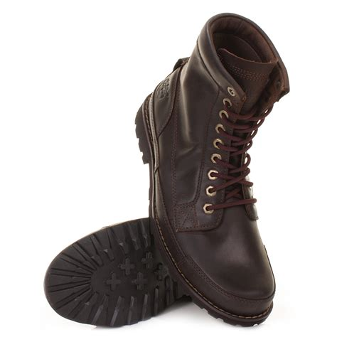 Rugged Boots by Timberland Earthkeepers Rugged 6 Inch Brown Burnished