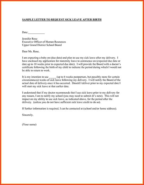 application letter for emergency leave emergency leave note format gallery cv letter