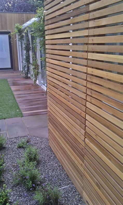 modern backyard fence modern garden london garden blog
