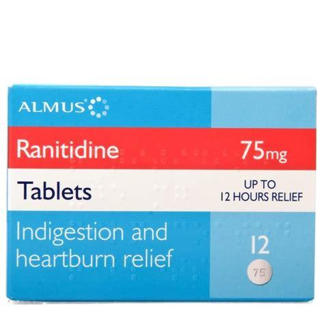 ranitidine 75mg tablets zantac alternative chemist direct