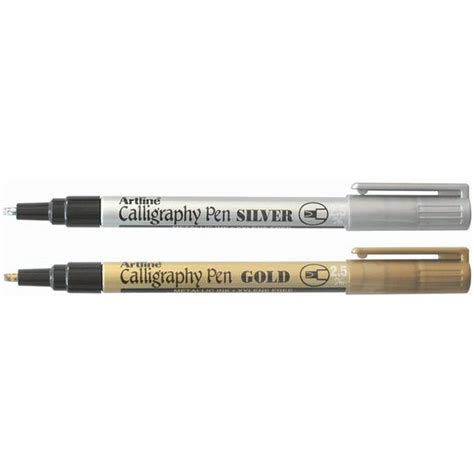 Artline Pulpen Kaligrafi 20 Calligraphy Marker 1 products craft materials stationery office supplies