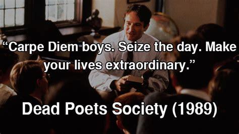 movie quotes dead poets society 80s movie quotes quotesgram