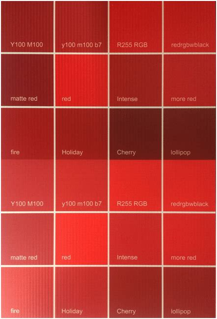red swatch can you match this color
