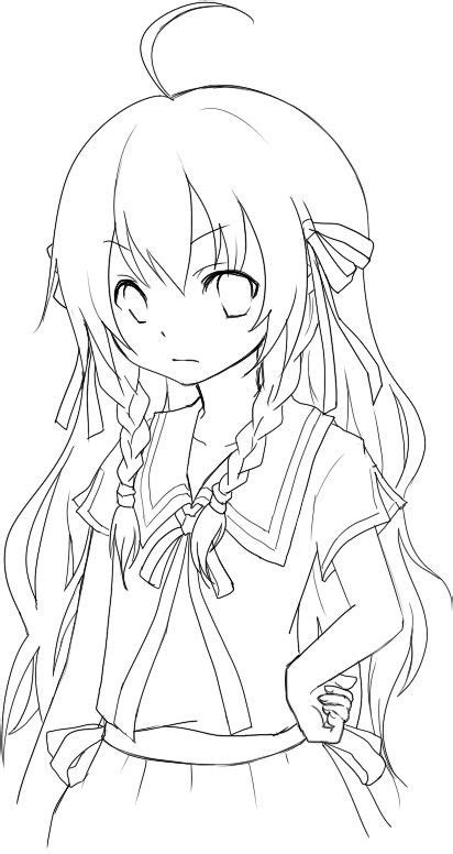 anime wolf girl coloring pages anime emo wolf girl coloring pages сoloring pages for