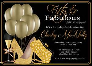 women s 50th birthday invitation 50th by fabpartyprints
