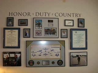 army home decor honor wall for the home