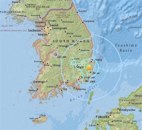 earthquake korea biggest earthquake in country s history shakes south korea
