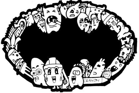 doodle bat batman doodle by aaarctist on deviantart