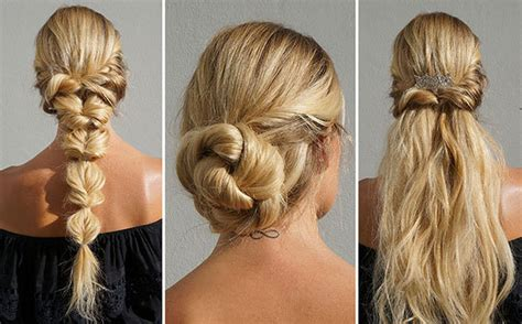 wedding easy hairstyles for hair 3 easy hairstyles for wedding guests more