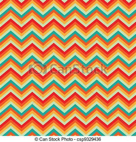 Illustration background pattern retro zig zag chevron ... Zig Zag Pattern Clipart