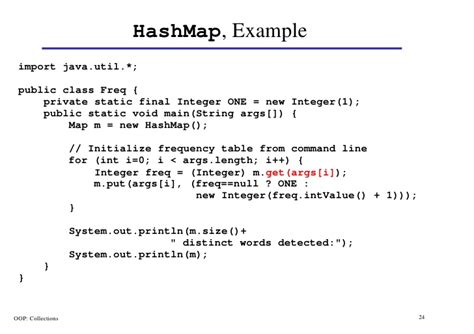 tutorial java hashmap collections in java