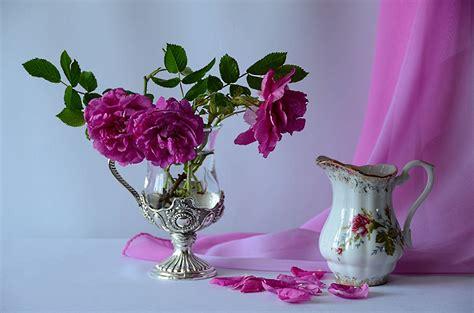 imagenes de rosas en jarrones fonds d ecran nature morte rosiers vase cruche p 233 tale