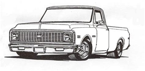 Chevy Truck Drawings by Classic Chevy Truck Drawings Www Pixshark Images