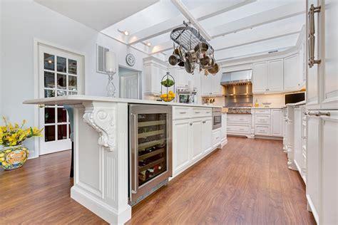 luxury white kitchen avon nj by design line kitchens