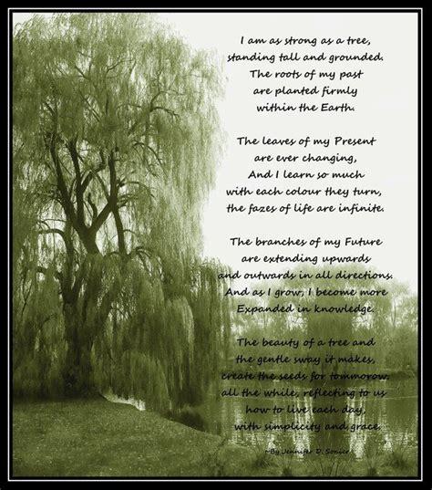 hydration rhymes hallmark tree of poem like a tree poem by
