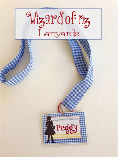 wizard crafts for wizard of oz c lanyards