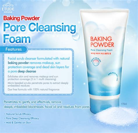 Harga The Shop Cleansing jual etude baking powder pore cleansing foam cnl