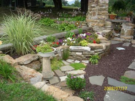 Small Garden Rocks Small Rock Garden Ideas Landscaping Gardening Ideas