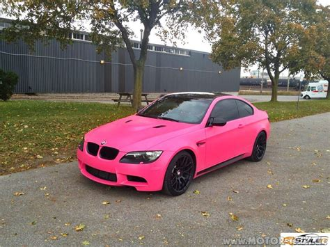 bmw m3 wrapped in matte pink photo gallery 7 postet eure